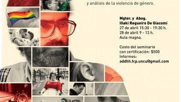 Iñaki Regueiro dictará un Seminario sobre género y discapacidad