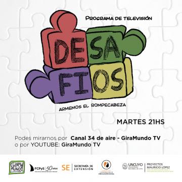 DESAFÍOS, un programa de tv con  trabajo en equipo