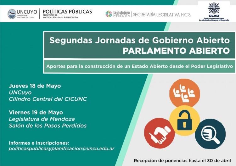 Segundas Jornadas de Gobierno Abierto en la Universidad Nacional de Cuyo