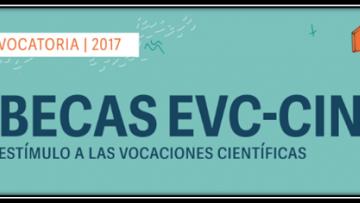 Convocatoria Becas Estímulo a las Vocaciones Científicas