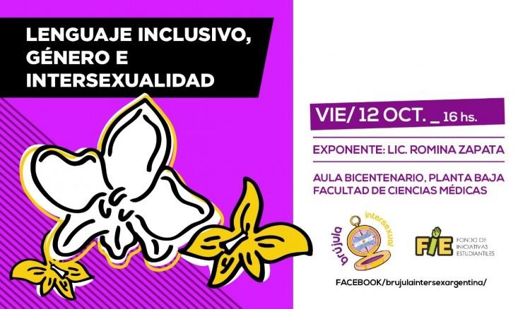 Charla-debate: Lenguaje Inclusivo, Género e Intersexualidad