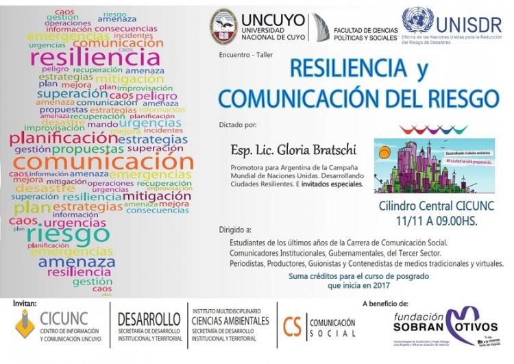 Encuentro – Taller Resiliencia y Comunicación del Riesgo