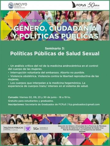 Seminario de Políticas públicas de Salud Sexual