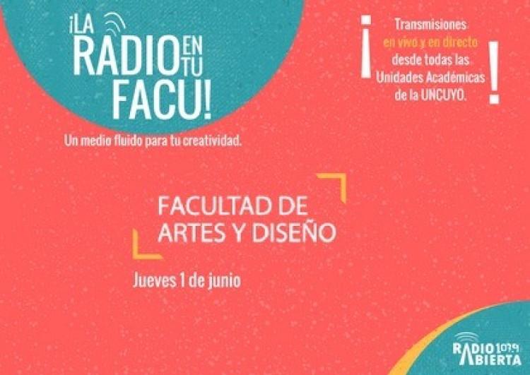 La Facultad de Artes y Diseño tendrá su propia transmisión de Radio Abierta