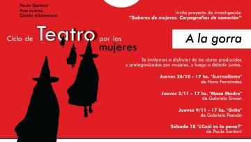 Ciclo de teatro por las mujeres en la FCPyS