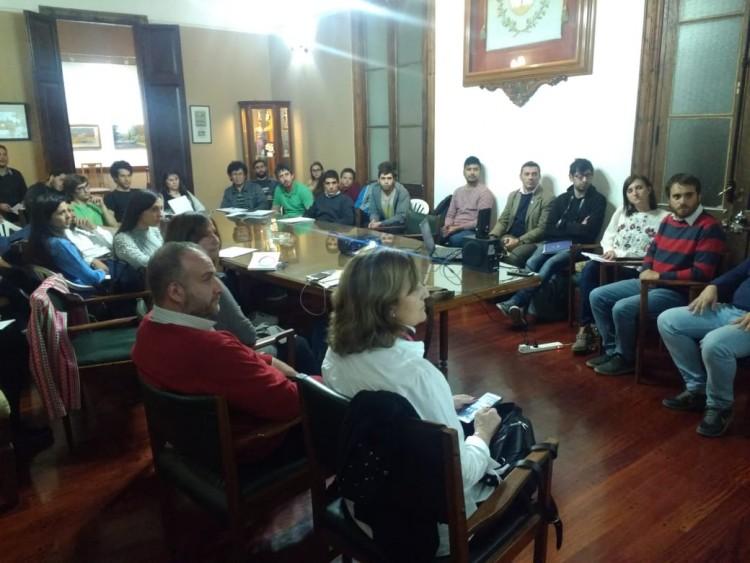 La FCPyS visitó la municipalidad de Maipú