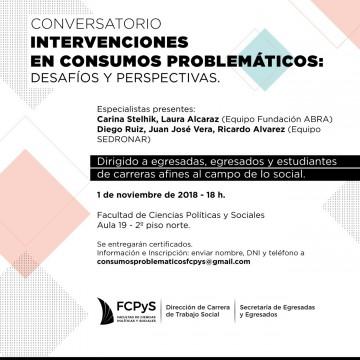 Intervenciones en Consumos Problemáticos. Desafíos y Perspectivas