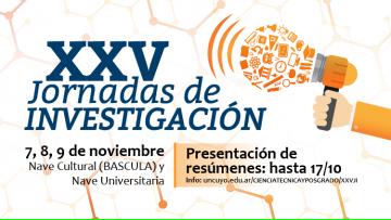 XXV Jornadas de Investigación en la UNCuyo