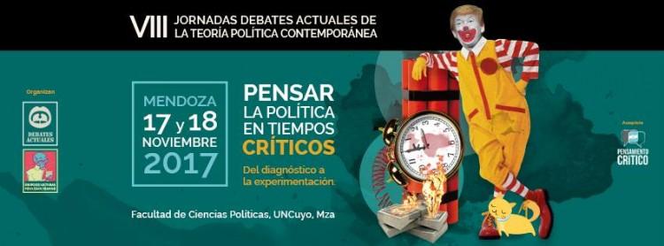 VIII Jornadas Debates Actuales de la Teoría Política Contemporánea