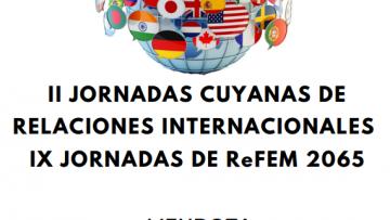 Comienzan este jueves las II Jornadas Cuyanas de Relaciones Internacionales y IX de la Red Federal Malvinas
