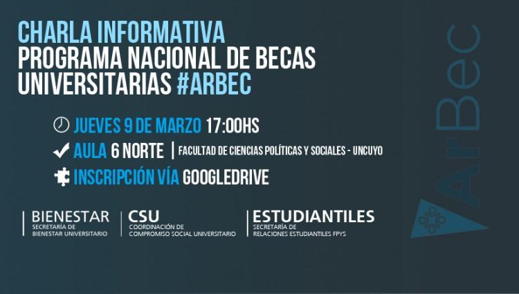 Charla informativa sobre el Programa Nacional de Becas Universitarias