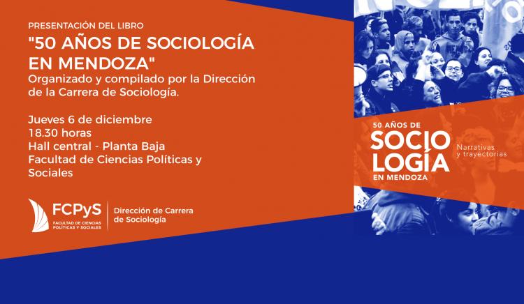 """Presentación del libro """"50 años de Sociología en Mendoza"""""""