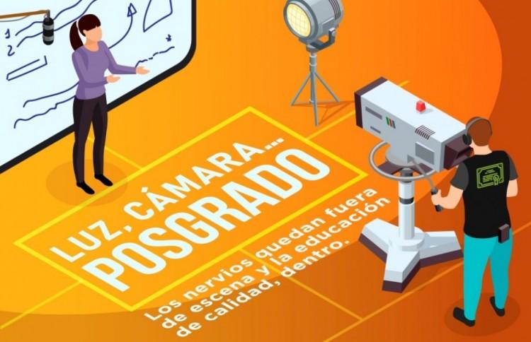 Docentes de posgrado podrán grabar videos educativos en Señal U