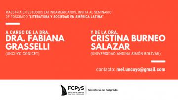 """Seminario """"Literatura y Sociedad en América Latina"""""""
