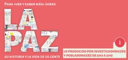 Para «ver y saber más» sobre La Paz, su historia y la vida de su gente… (2020)