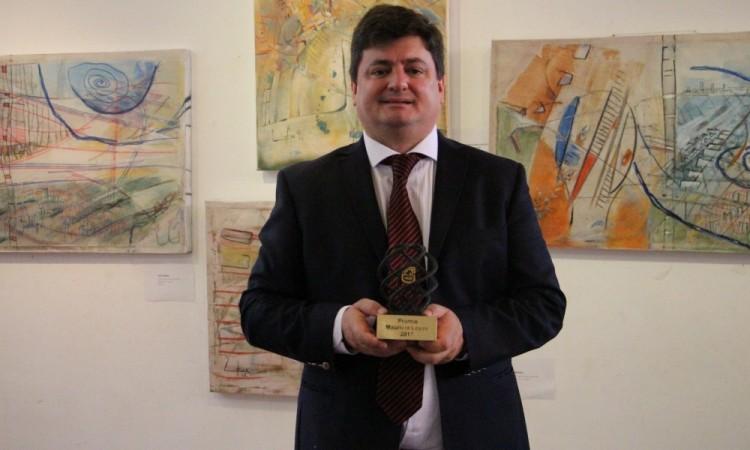 """Pablo Salinas recibirá el premio """"María Rita Saulle"""" en Italia"""