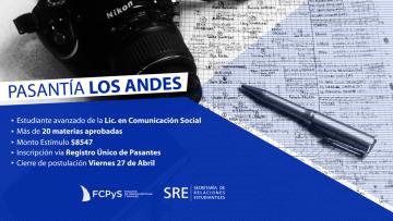 """Pasantía en diario """"Los Andes"""""""