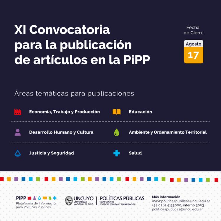 XI Convocatoria PiPP