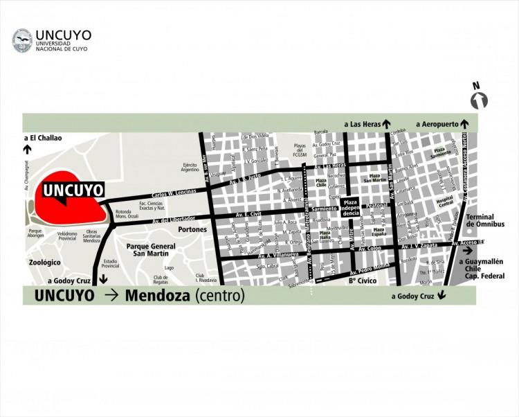 Plano Mendoza
