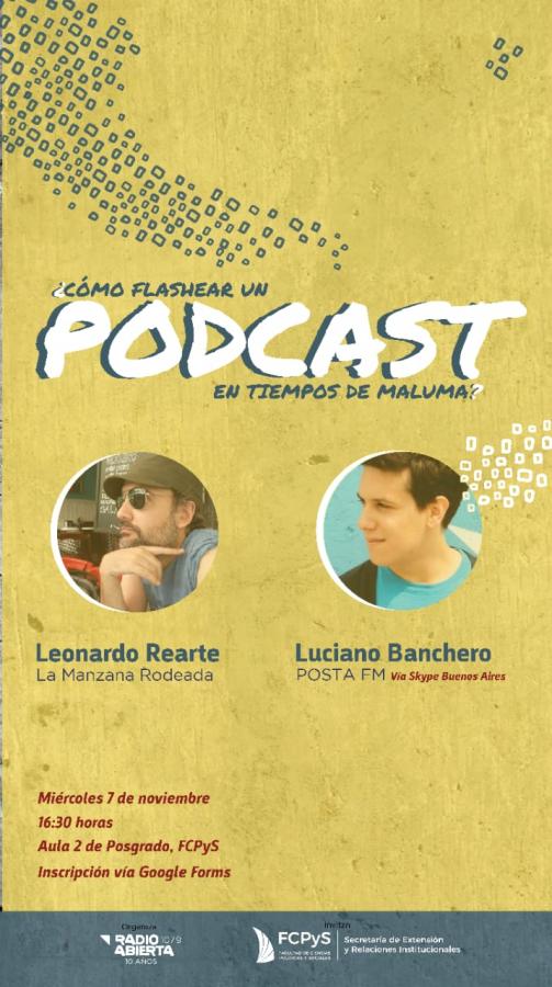 ¿Cómo flashear un podcast en tiempos de Maluma?