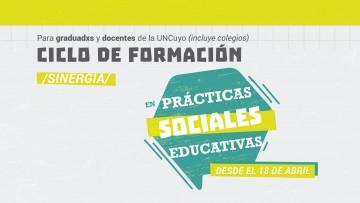 Comienza el Ciclo de formación en prácticas sociales educativas (PSE)