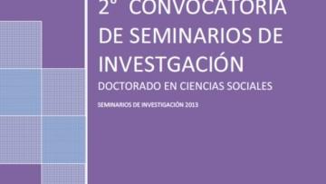 2º Convocatoria de Seminarios de Investigación