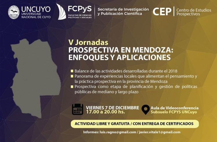 Comienzan las V Jornadas de Prospectiva en Mendoza