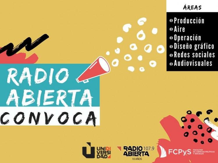 ¡Sumate a Radio Abierta!