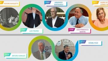 Rectores de la UNCuyo en democracia: un micrositio da cuenta de sus semblanzas y gestiones