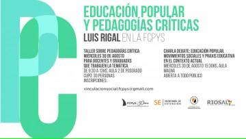 Pedagogías críticas  y Educación popular en la FCPyS