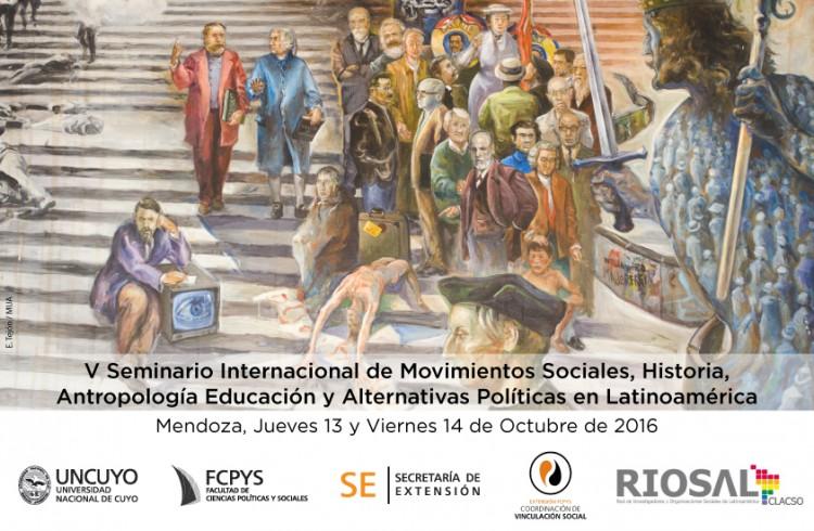 Seminario Internacional de Movimientos Sociales y Educación en la FCPyS