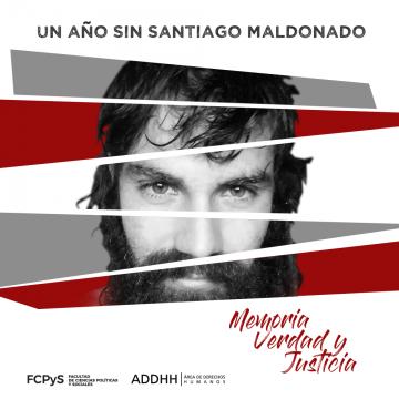 Un año sin Santiago Maldonado