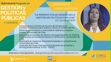 """Seminario: """"La Perspectiva de Género en la Gestión de Políticas Públicas"""""""