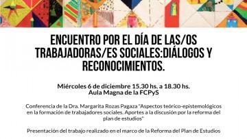 Encuentro y celebración por el día de las/los trabajadoras/es sociales