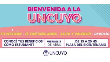 Ingresantes de la UNCUYO tendrán su bienvenida