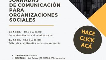 Jornadas de Comunicación para Organizaciones Sociales