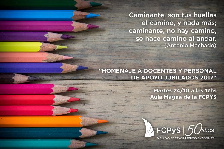 La FCPYS homenajeará a sus trabajadores/as jubilados/as
