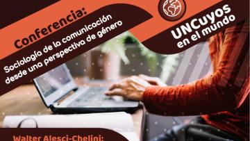 """Conferencia: """"Sociología de la comunicación desde una perspectiva de género"""""""