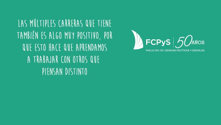 El 50º aniversario de la FCPyS en palabra de sus estudiantes