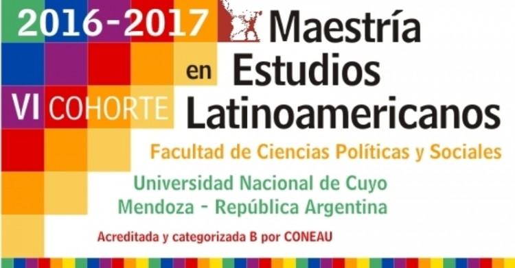 Maestría en estudios latinoamericanos – Facultad de Ciencias Políticas y Sociales