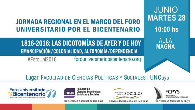 Jornada regional en el marco del Foro Universitario por el Bicentenario