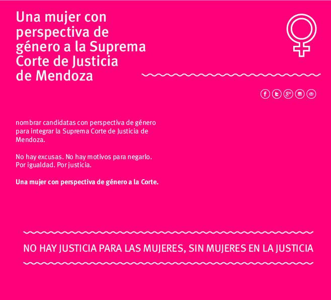 Una mujer con perspectiva de género a la Corte Suprema de Justicia, la FCPyS se suma al reclamo