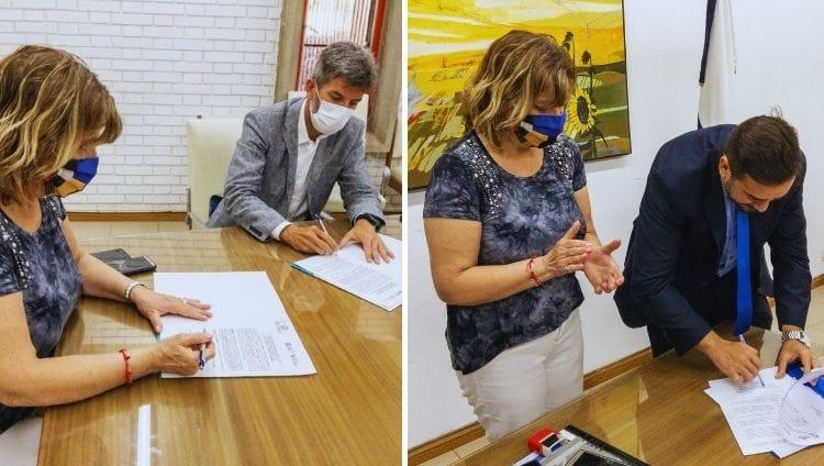 La FCPyS firmó importantes acuerdos con municipios de la provincia
