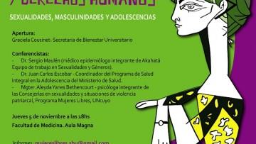 """Seminario """"Sexualidades, Masculinidades y Adolescencias"""""""