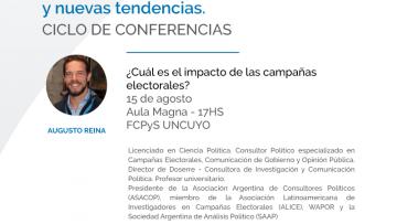 Conferencia: ¿Cuál es el impacto de las campañas electorales?