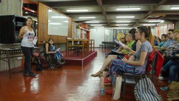 Charla sobre Discapacidad para los estudiantes del Ingreso