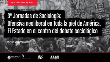 Comienzan las 3ras Jornadas de Sociología en la FCPyS