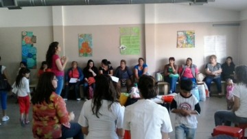 Charlas a Familiares de Detenidos Sobre Prevención de la Violencia a Mujeres