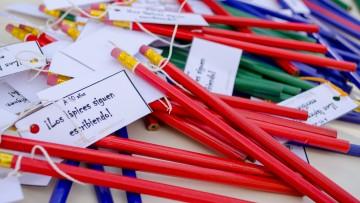 Los lápices siguen escribiendo 41 años después