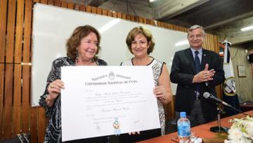 Lidia Fernández, en línea directa con la FCPyS